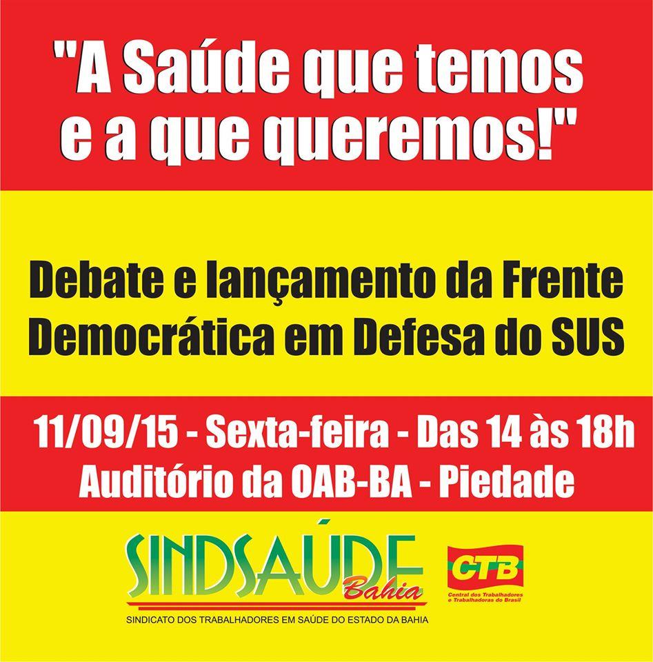 Democracia SUS